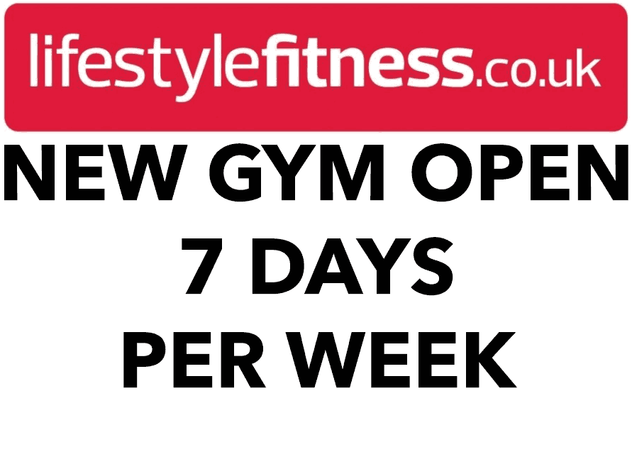 New GYM Open 7 Days Per Week